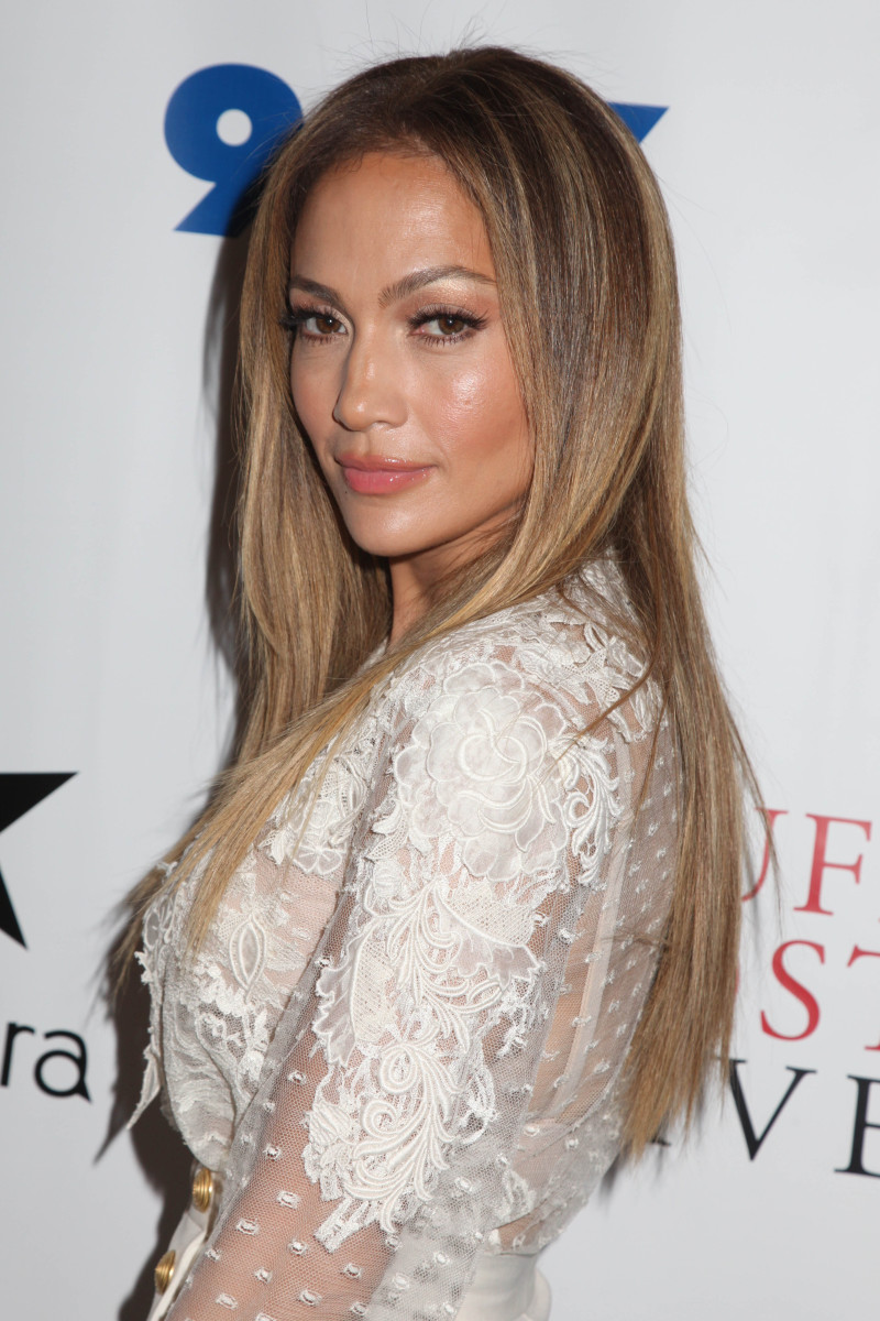 Jennifer Lopez True Love promotional appearance 2014
