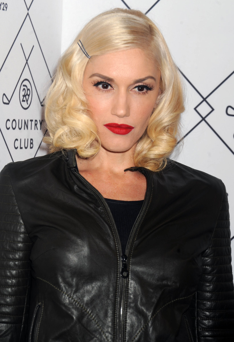 Gwen Stefani Refinery29 Country Club Launch New York Fashion Week Kick-Off Party 2014