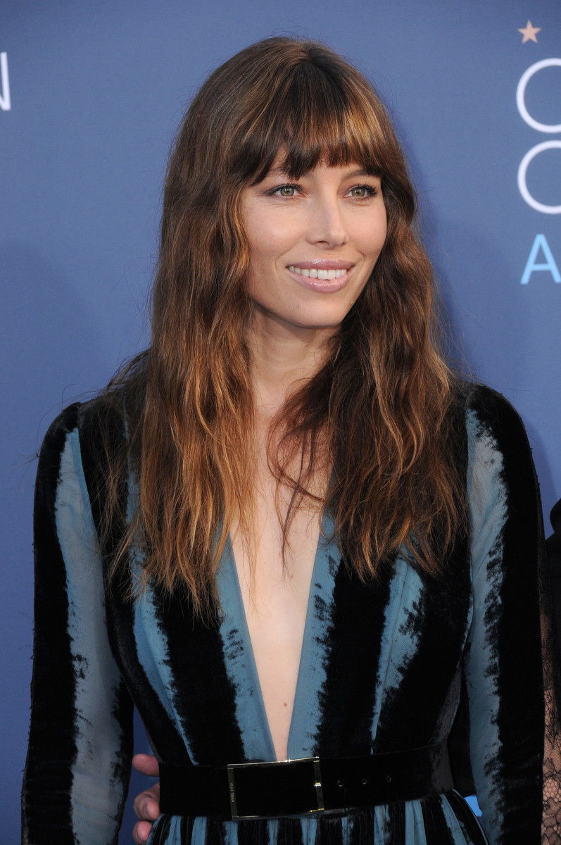 Jessica Biel Critics' Choice Awards 2017