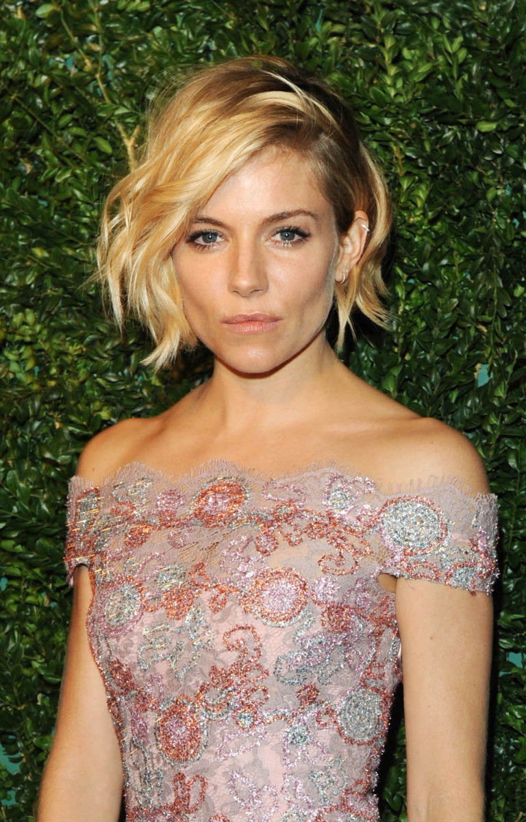 Sienna Miller Evening Standard Theatre Awards 2014
