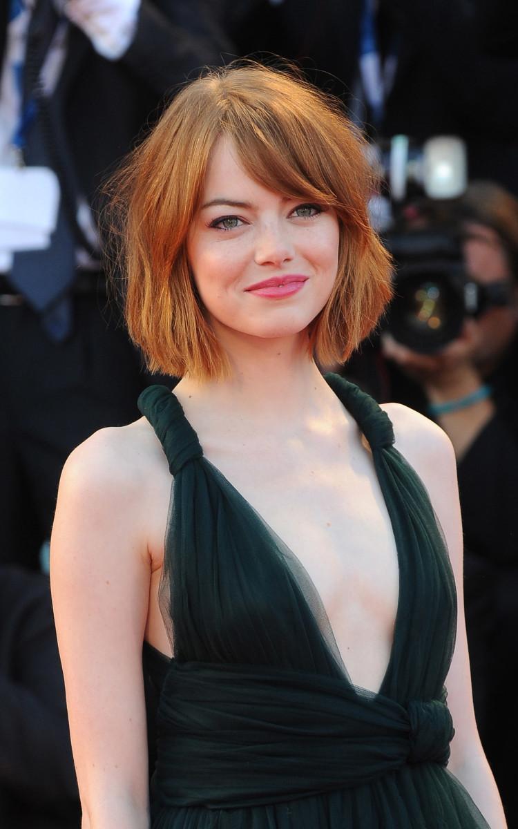 Emma Stone Birdman Venice premiere 2014