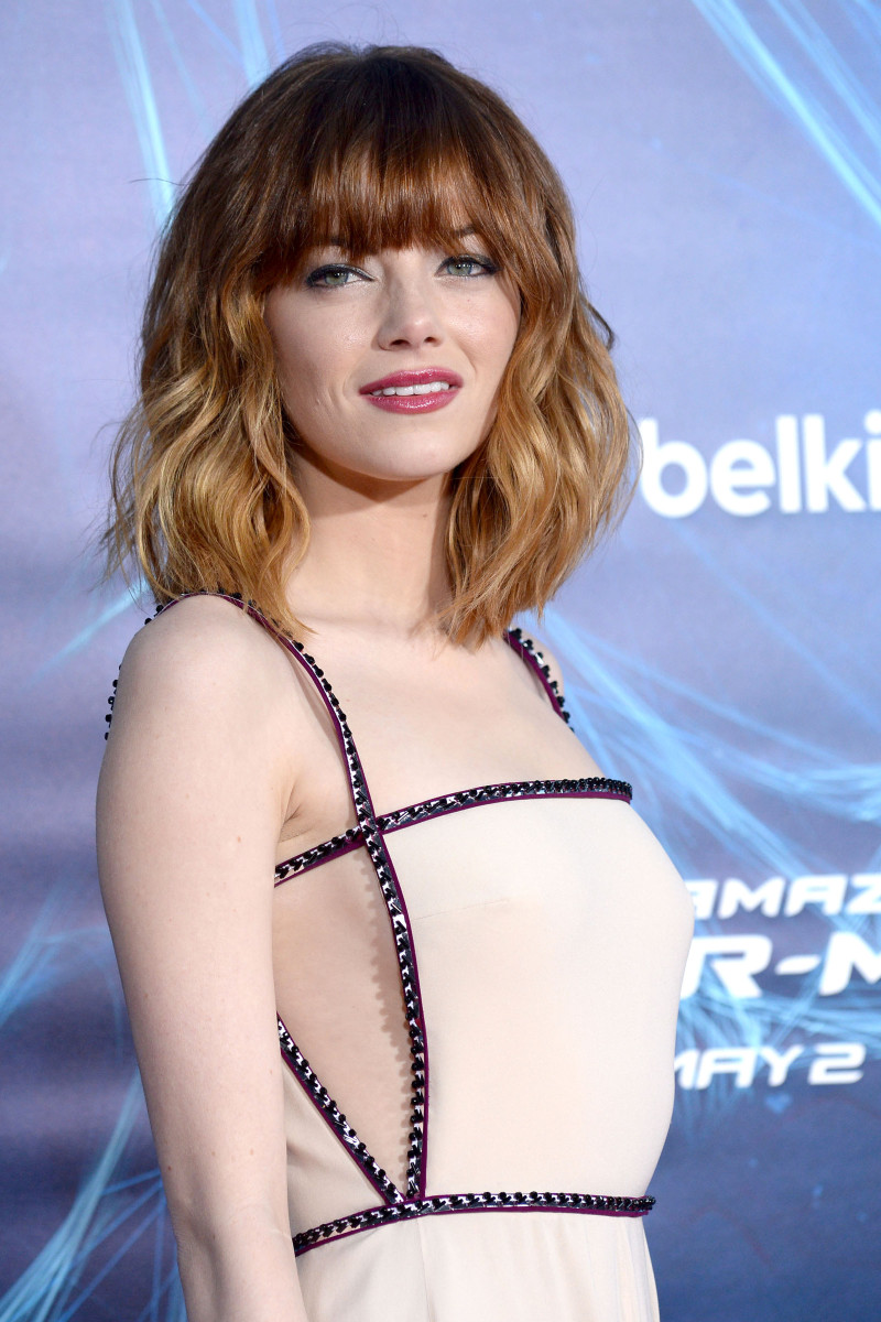 Emma Stone The Amazing Spider-Man 2 New York City premiere 2014
