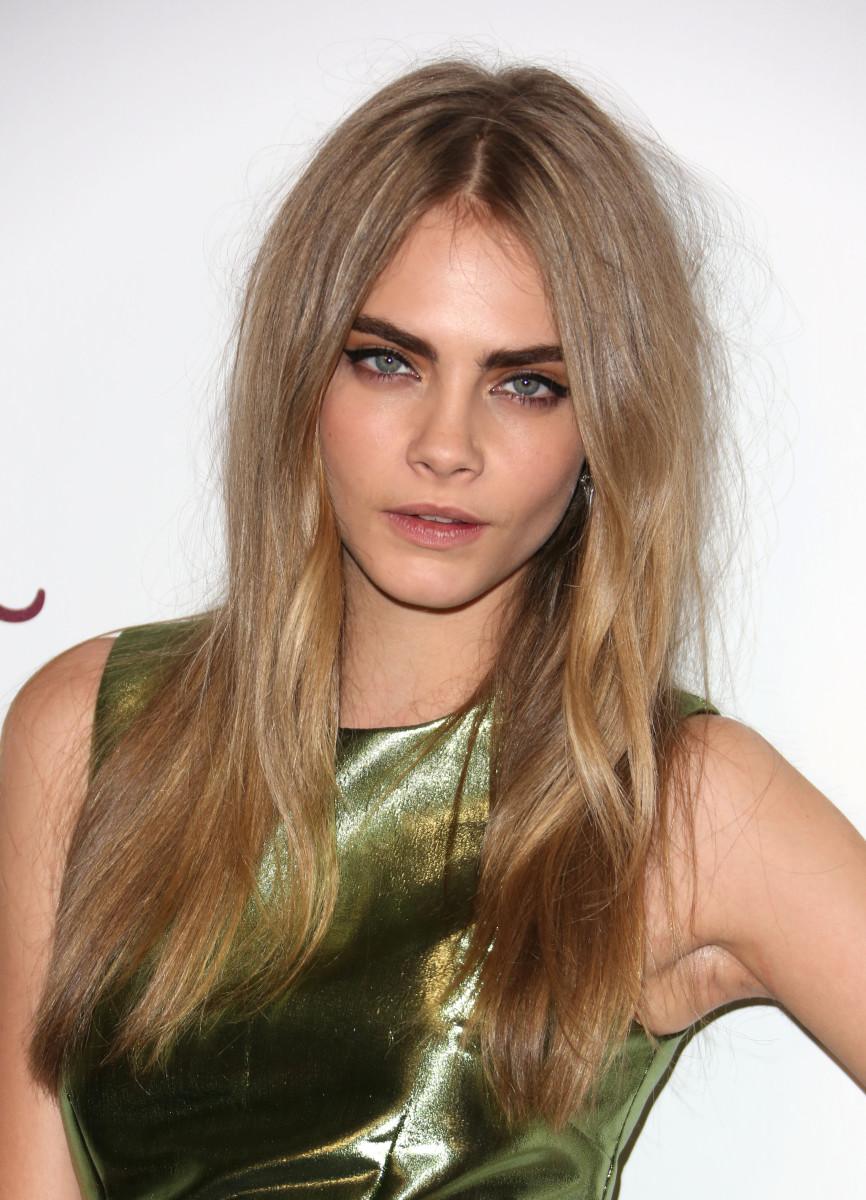 Cara Delevingne British Fashion Awards 2012