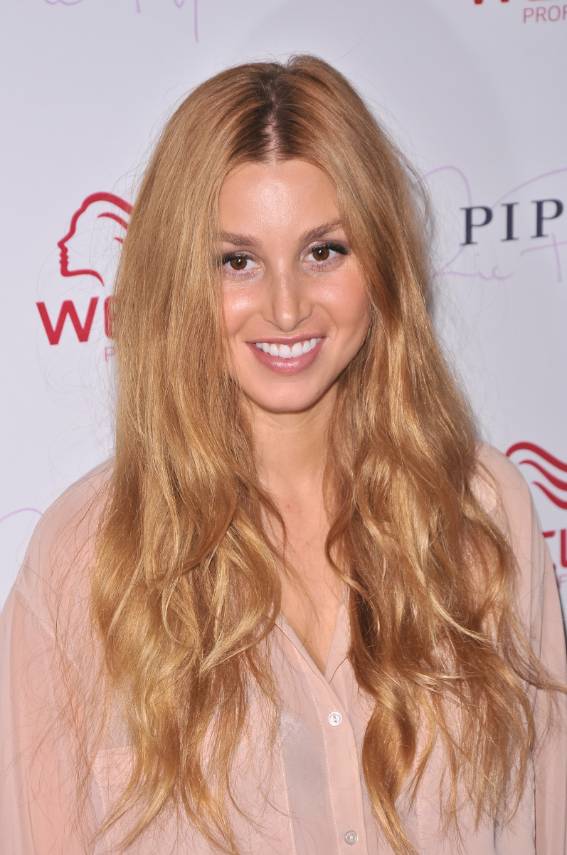 Whitney Port Wella Professionals Flagship Salon Grand Opening 2011