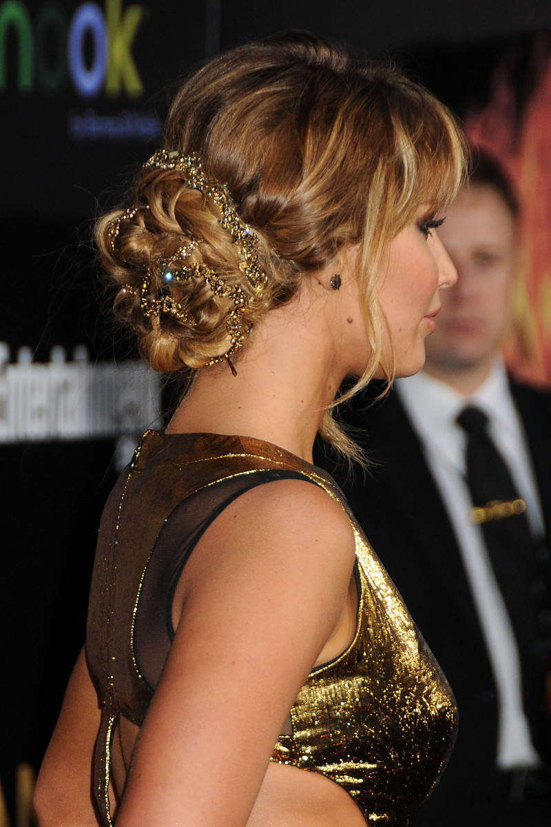 Jennifer Lawrence The Hunger Games Los Angeles premiere 2012