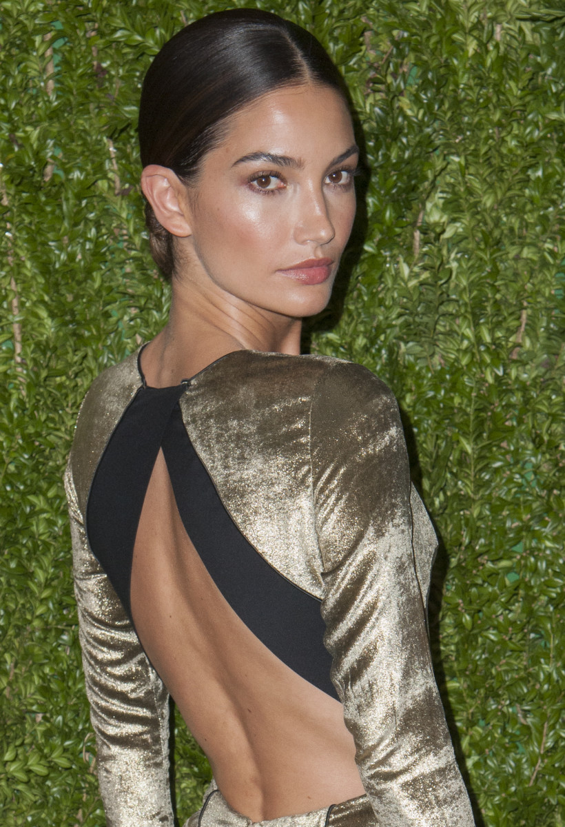 Lily Aldridge CFDA and Vogue Fashion Fund Finalists Celebration 2013