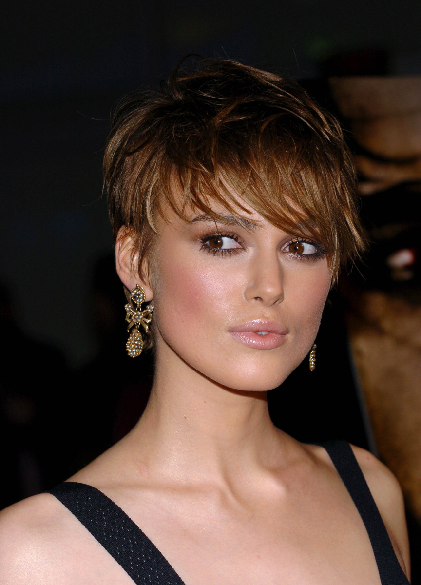 Keira Knightley The Jacket Los Angeles premiere 2005