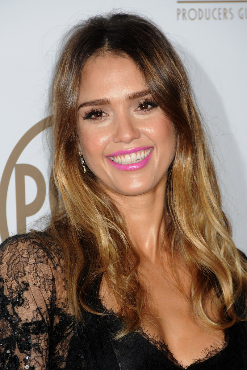 Jessica Alba Producers Guild Awards 2013