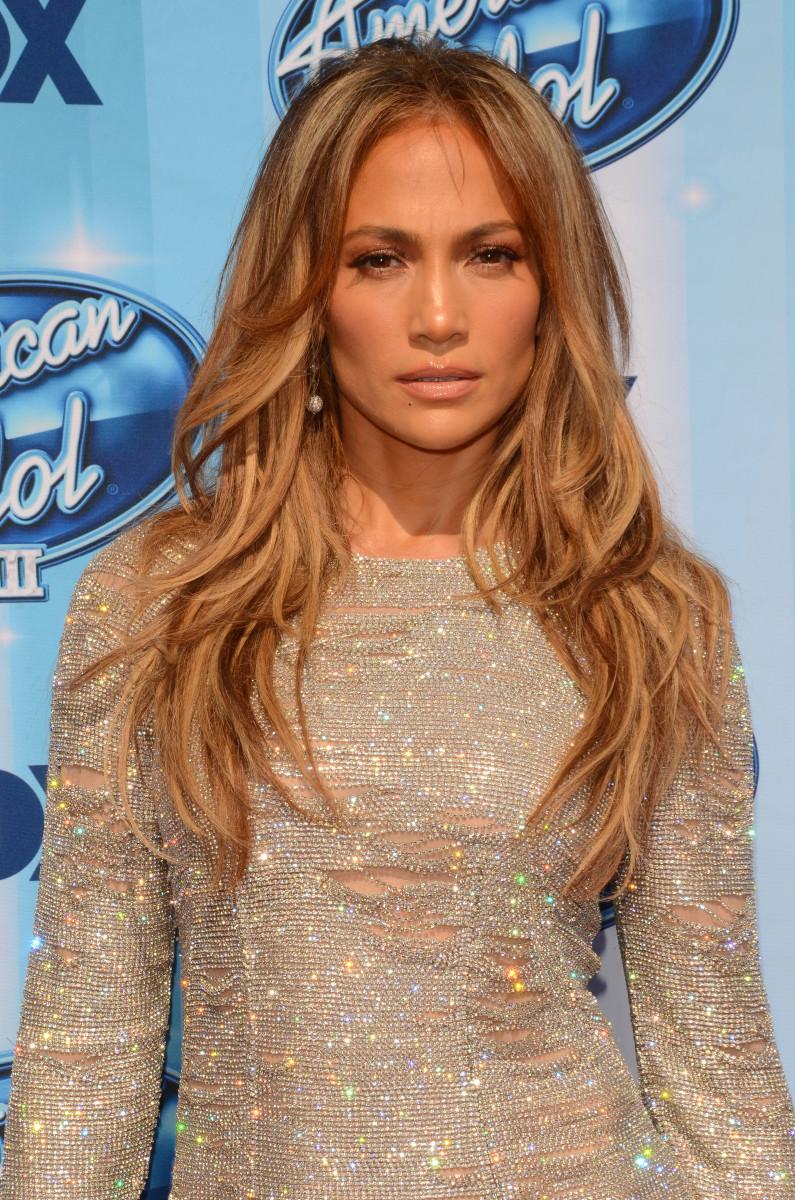 Jennifer Lopez American Idol Season 13 finale 2014