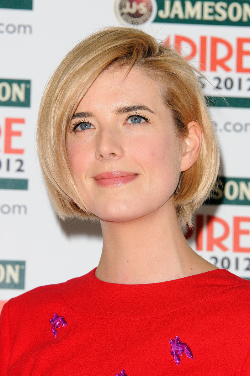 Agyness Deyn  Jameson Empire Awards 2012