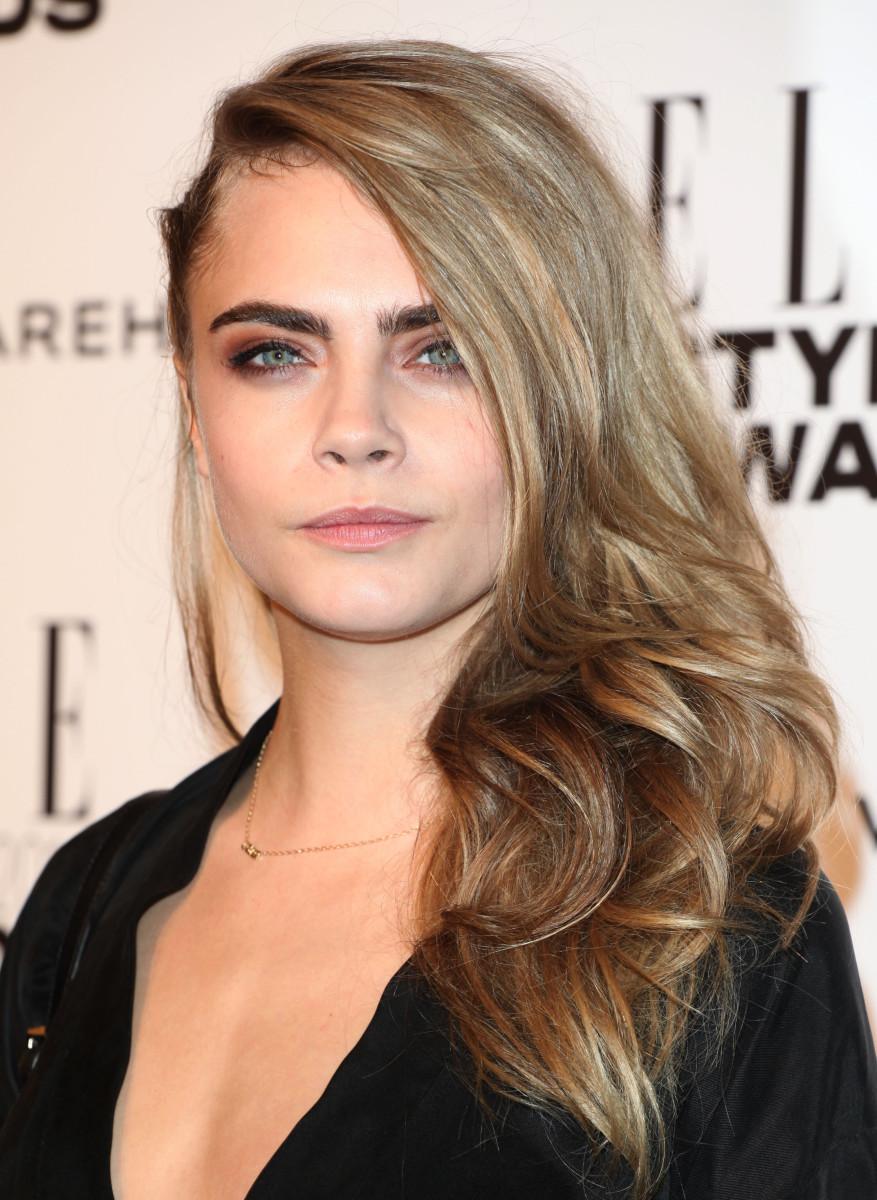 Cara Delevingne Elle Style Awards 2014