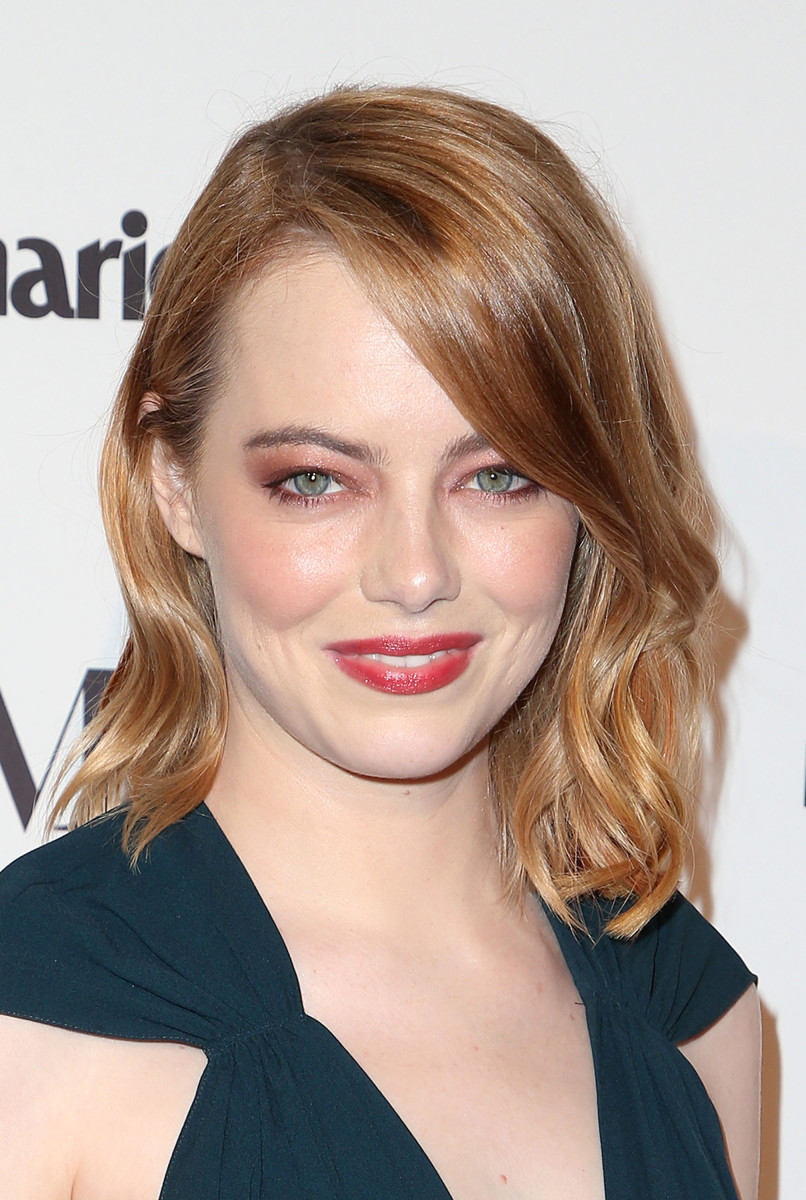 Emma Stone Marie Claire Image Makers Awards 2018