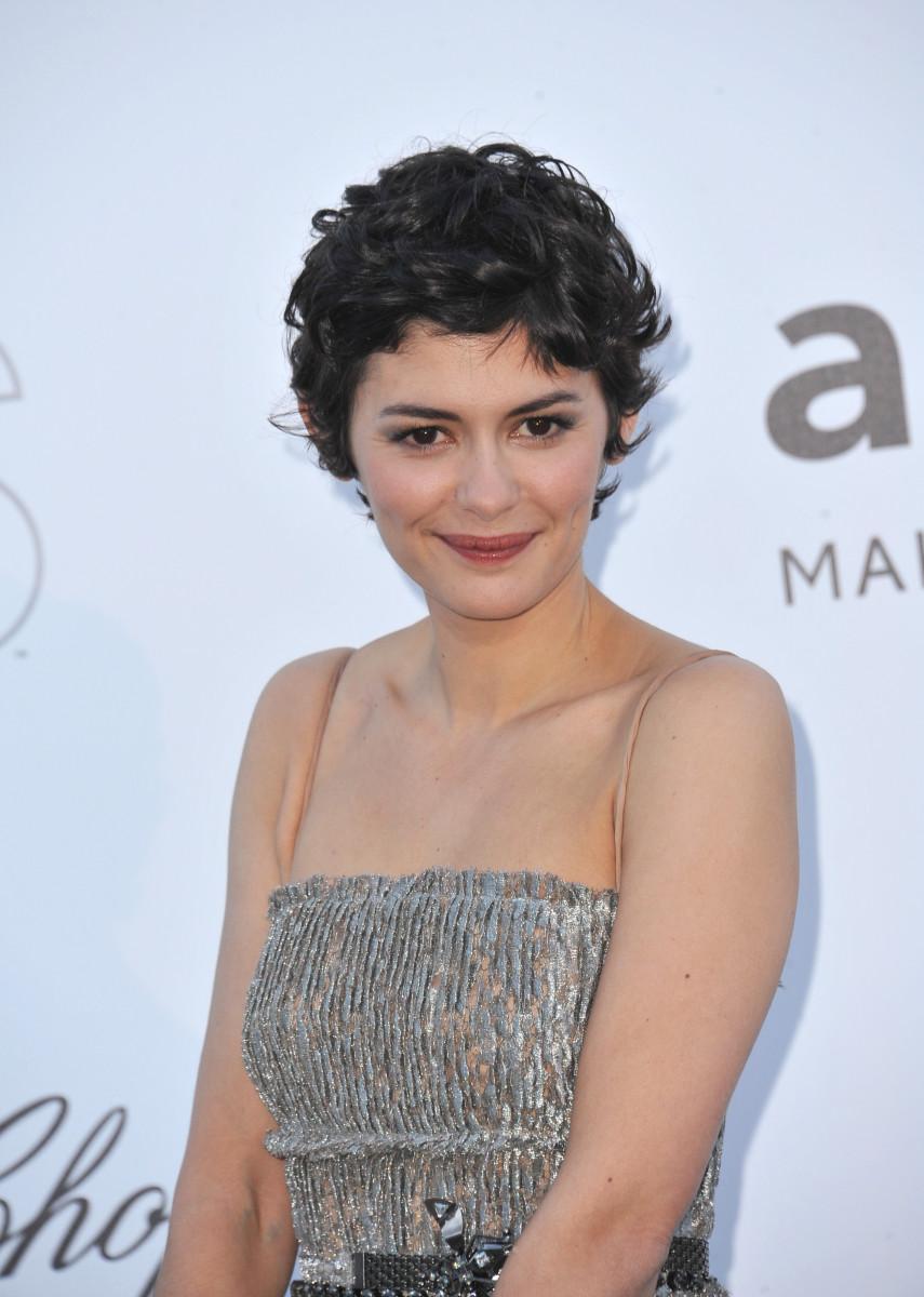 Audrey Tautou Cannes amfAR Gala 2013
