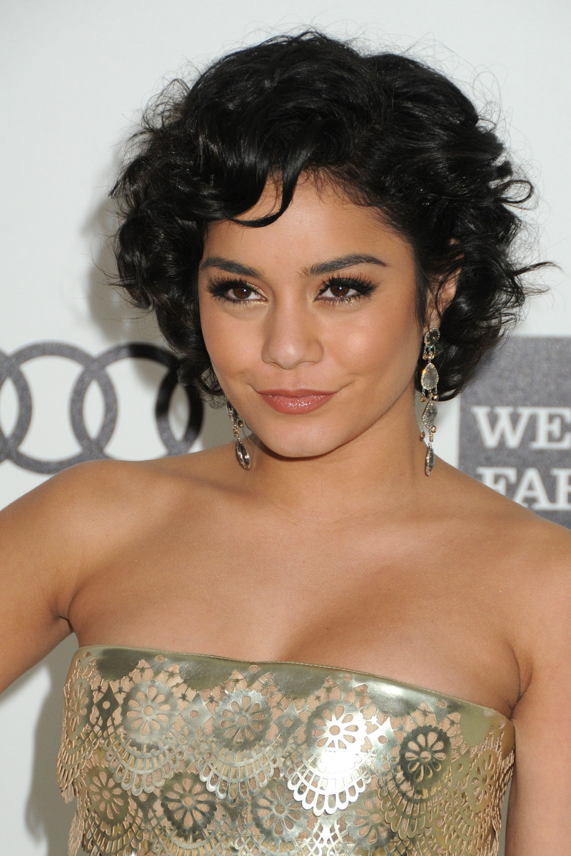 Vanessa Hudgens Elton John Academy Awards Viewing Party 2012