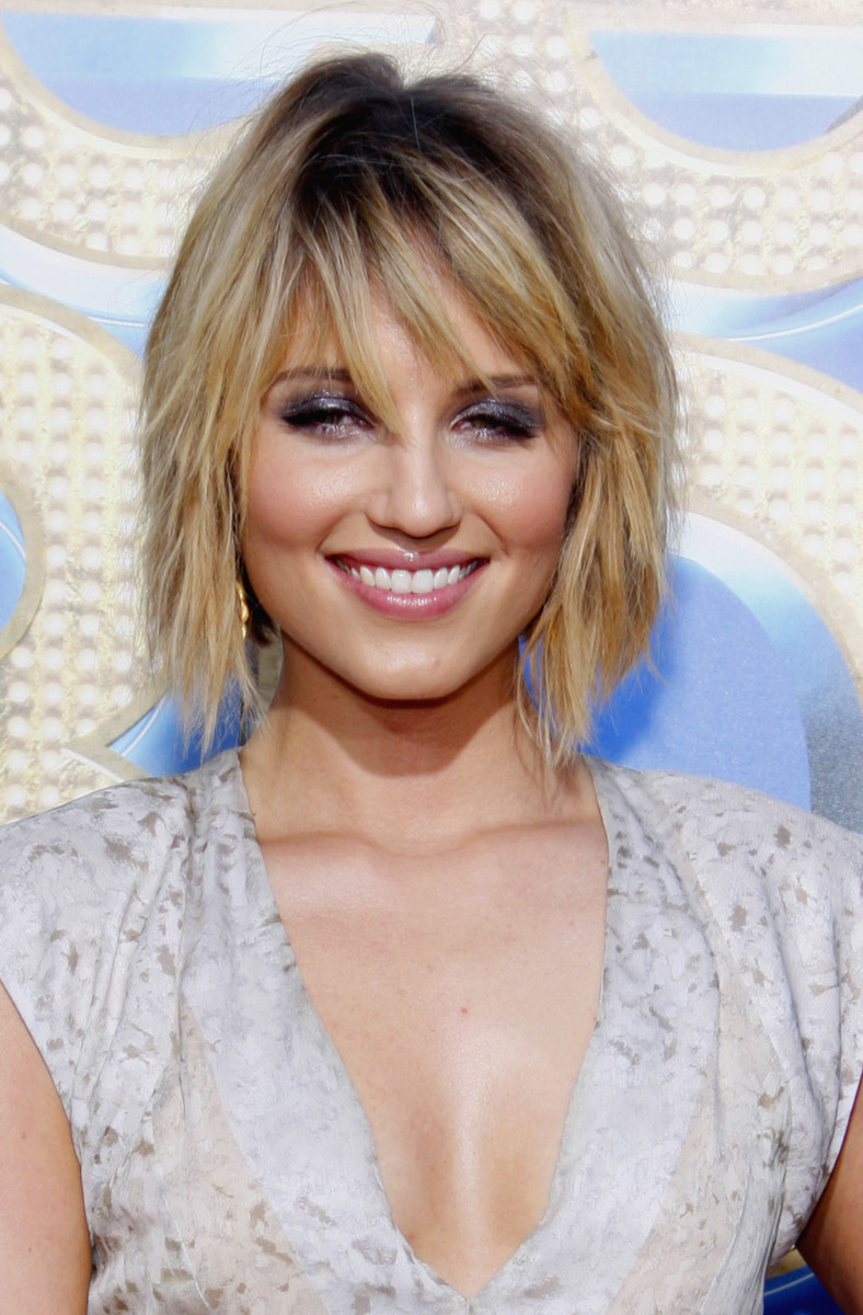 Dianna Agron Glee The 3D Concert Movie Los Angeles premiere 2011