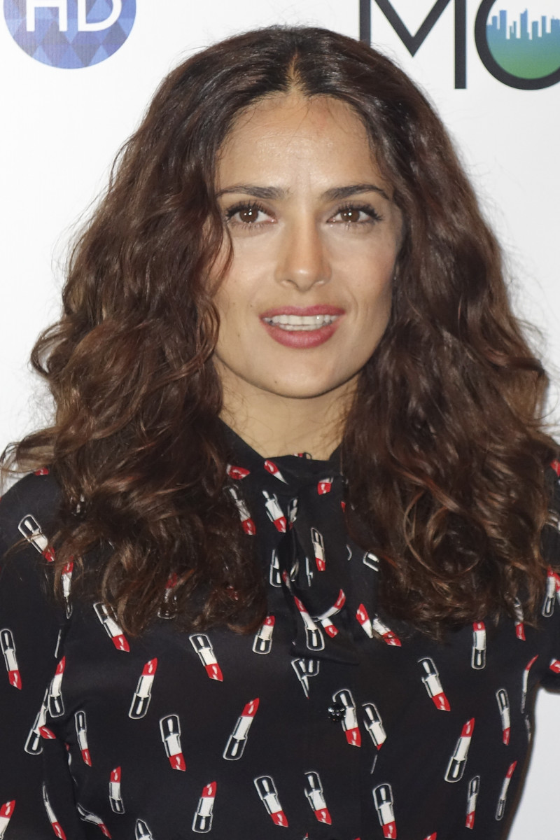 Salma Hayek Mamarazzi event celebrating The Prophet 2015