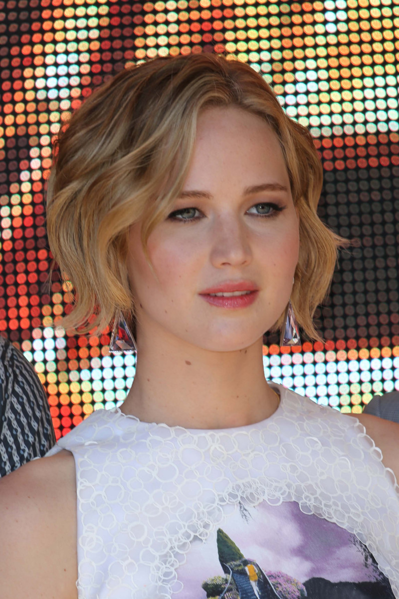 Jennifer Lawrence The Hunger Games Mockingjay Part 1 Cannes photocall 2014