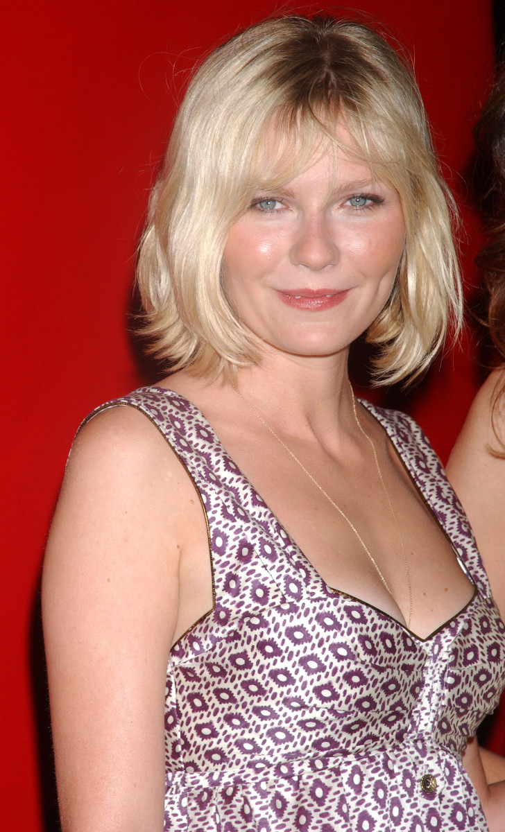 Kirsten Dunst Cartier Orchid Jewelry Collection launch 2005