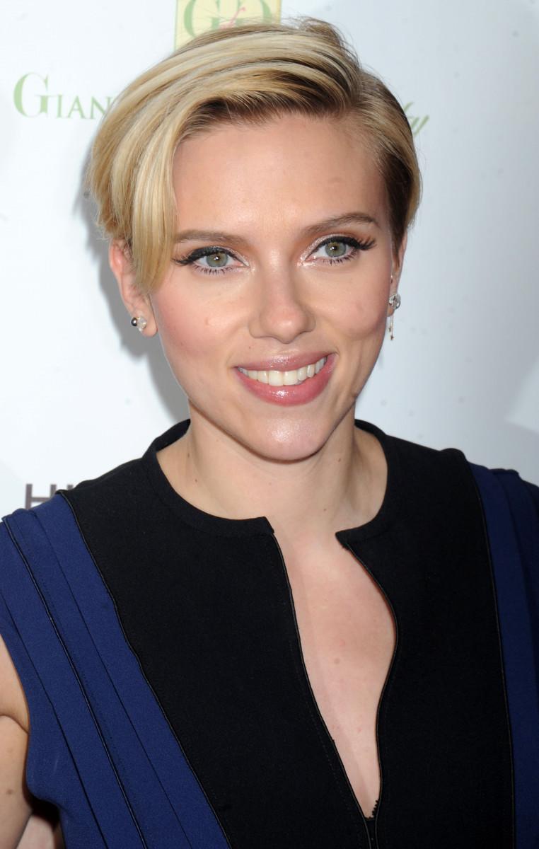 Scarlett Johansson Champions of Rockaway Hurricane Sandy Benefit 2014