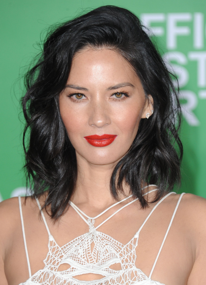 Olivia Munn Office Christmas Party Los Angeles premiere 2016