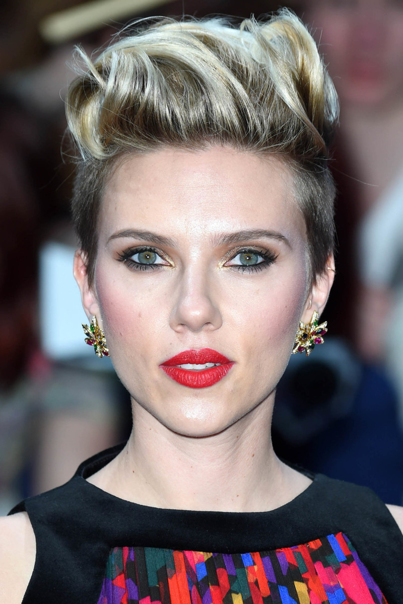 Scarlett Johansson Avengers Age of Ultron London premiere 2015