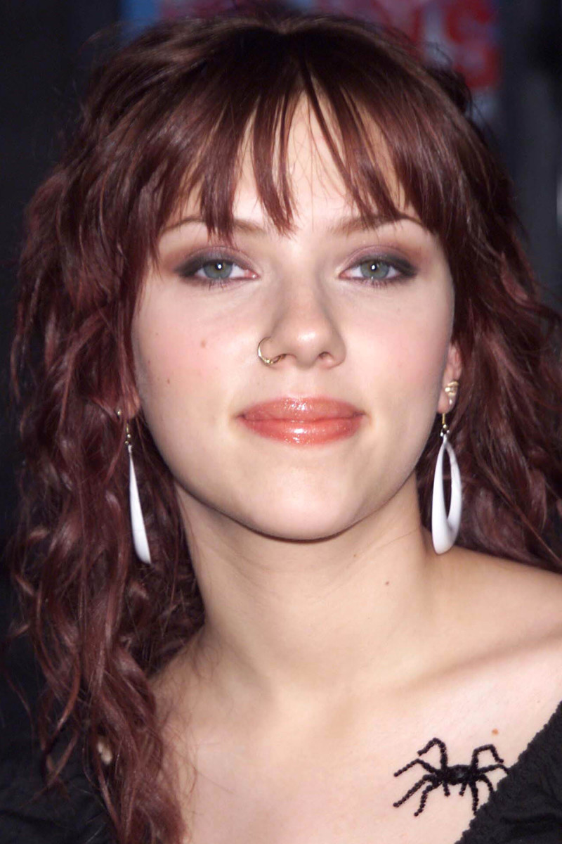Scarlett Johansson Eight Legged Freaks Los Angeles premiere 2002