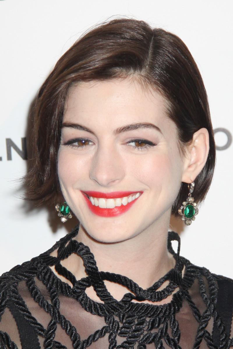 Anne Hathaway American Cinematheque Awards 2014
