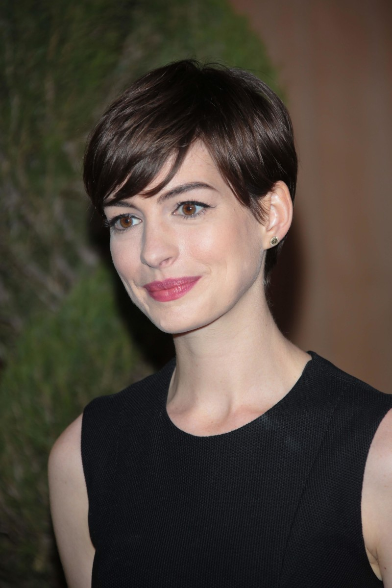 Anne Hathaway Academy Awards Nominees Luncheon 2013