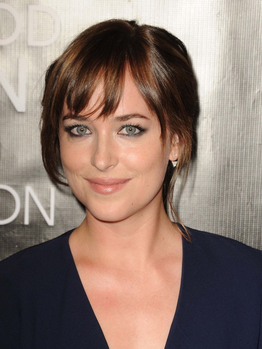 Dakota Johnson Hollywood Foreign Press Association Grants Banquet 2015