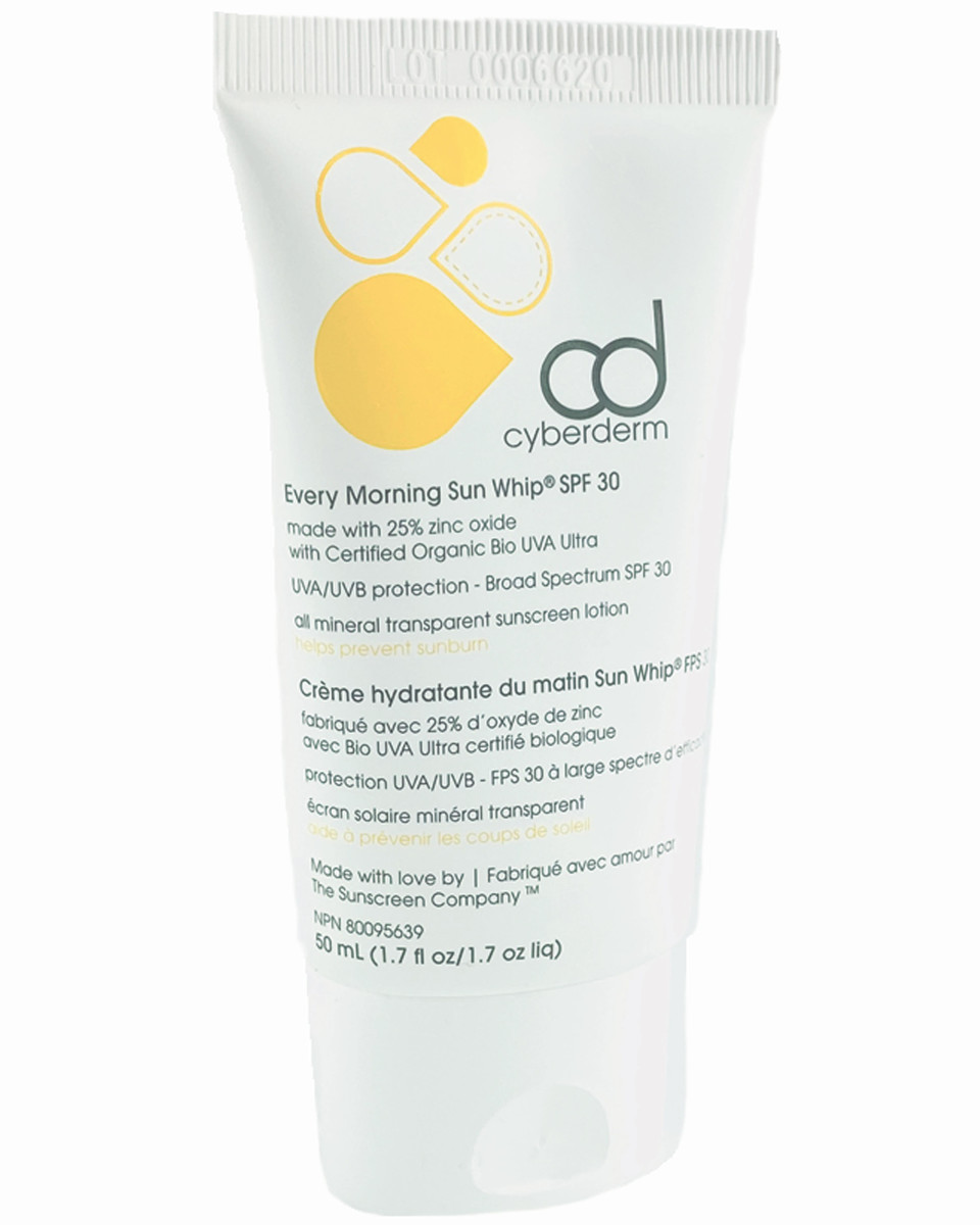 CyberDerm Every Morning Sun Whip SPF 30