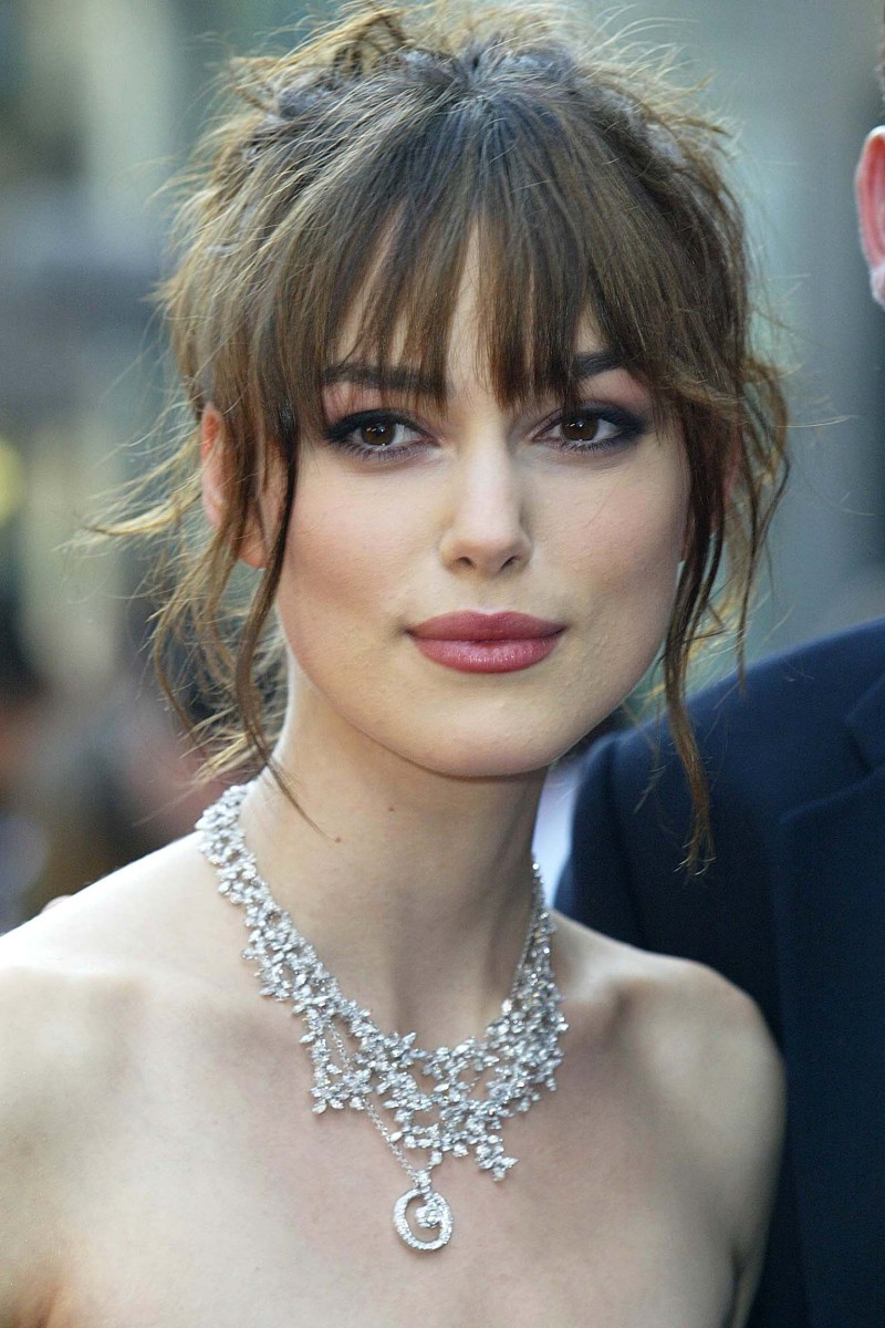 Keira Knightley King Arthur London premiere 2004