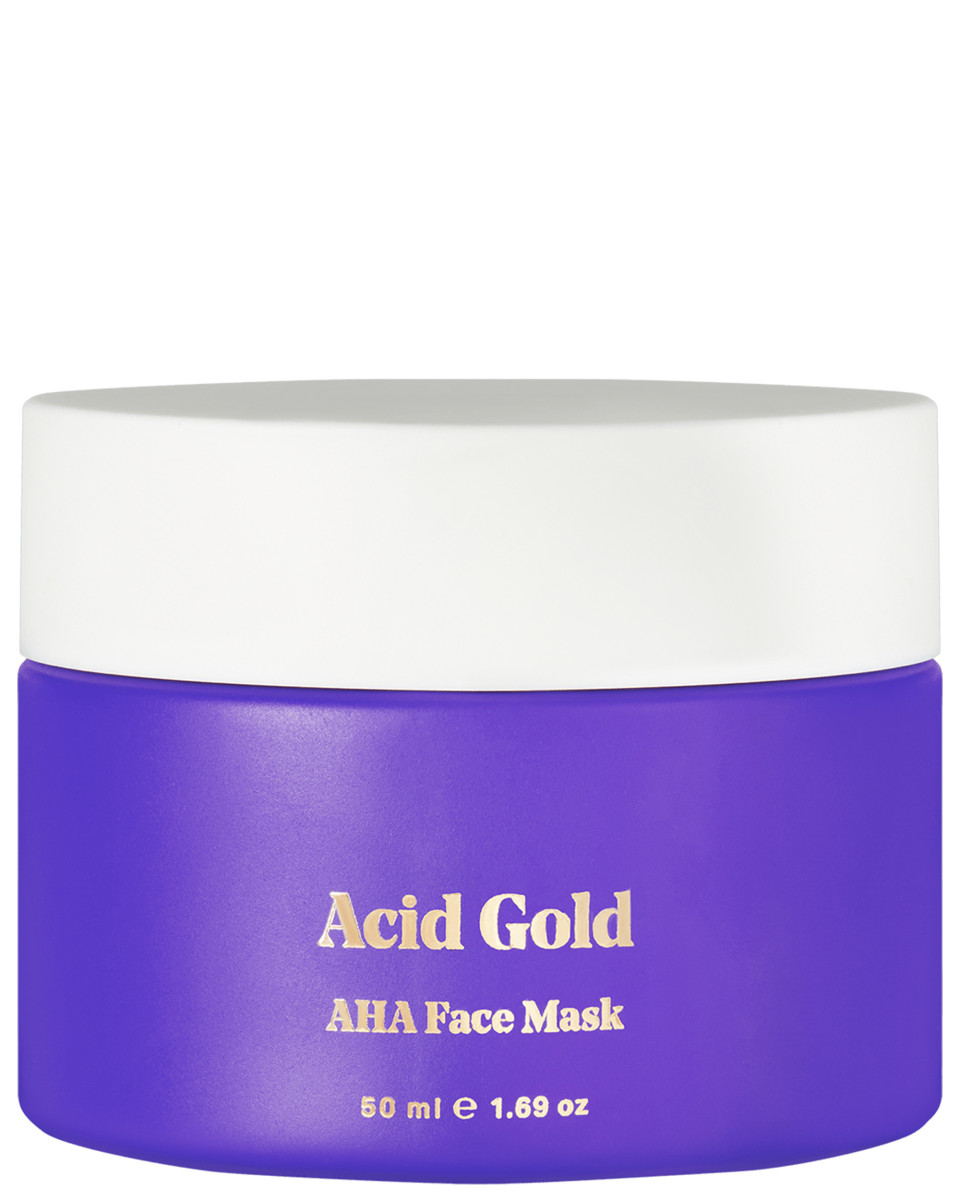 BYBI Acid Gold AHA Face Mask