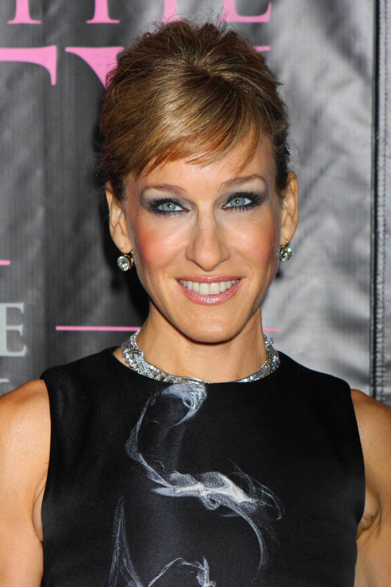 Sarah Jessica Parker Sex and the City The Movie DVD launch 2008