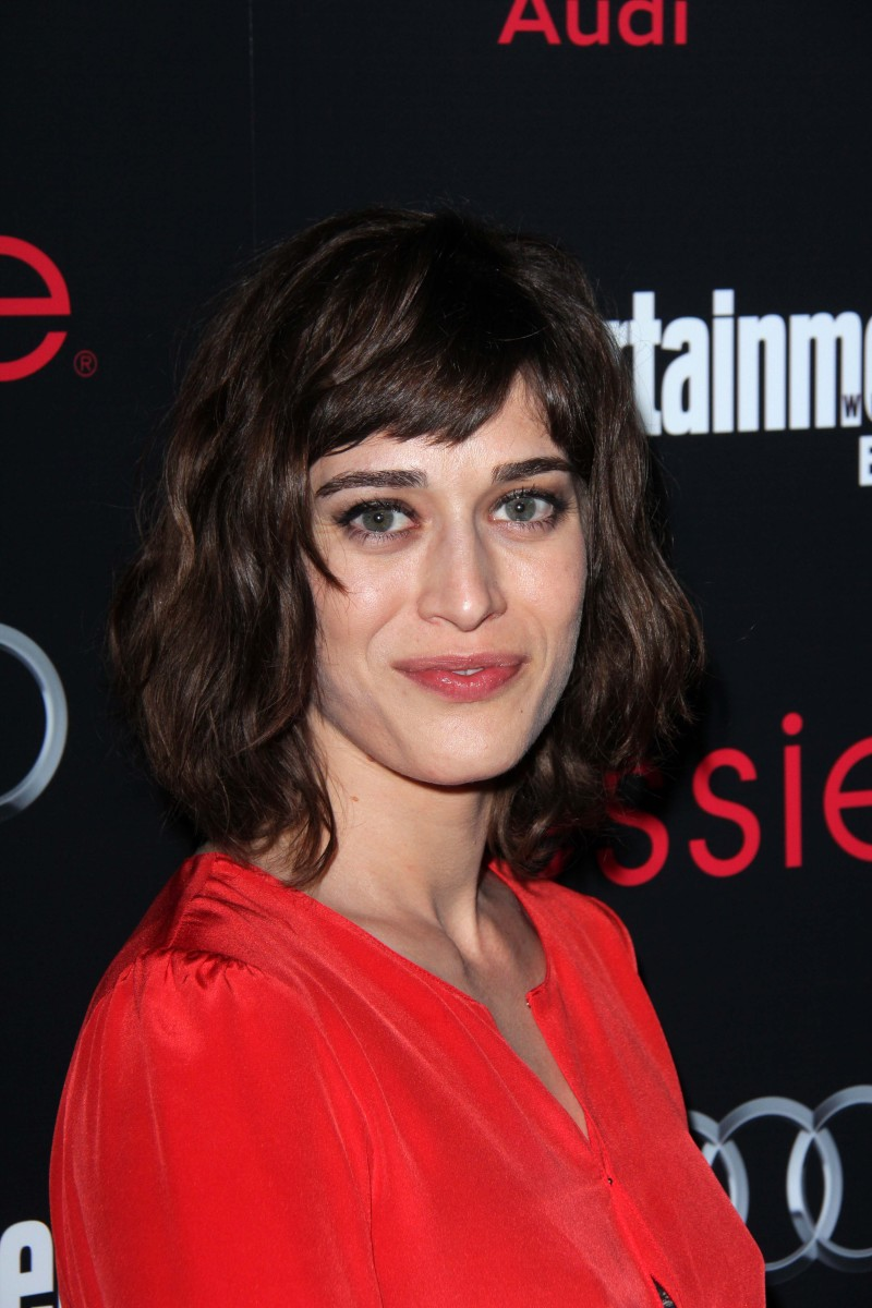 Lizzy Caplan Entertainment Weekly Pre-SAG Party 2013