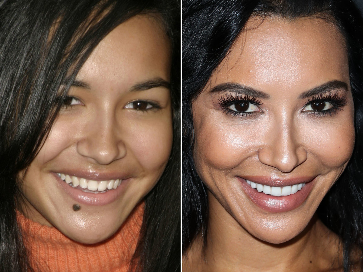 Naya Rivera before and after