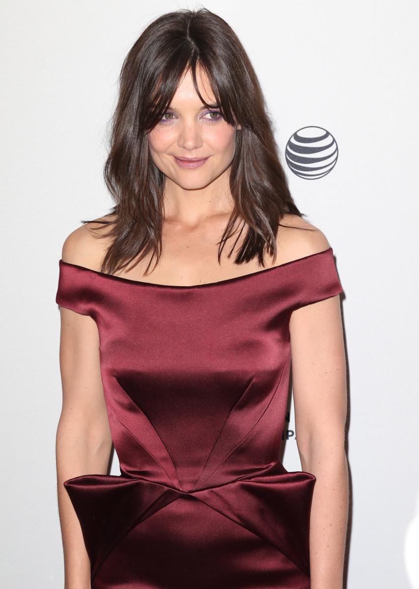 Katie Holmes Miss Meadow New York City premiere 2014
