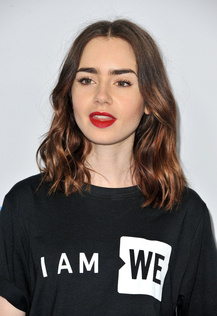 Lily Collins We Day 2017