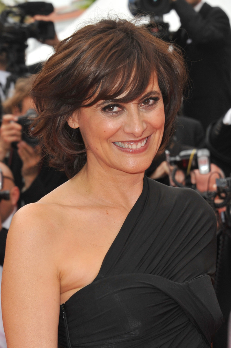 Ines de la Fressange Midnight in Paris Cannes premiere 2011