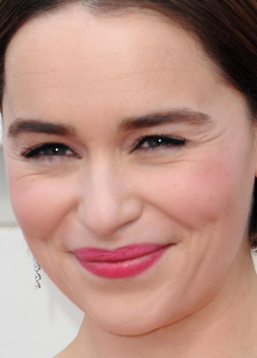 Emilia Clarke Oscars 2019 close-up