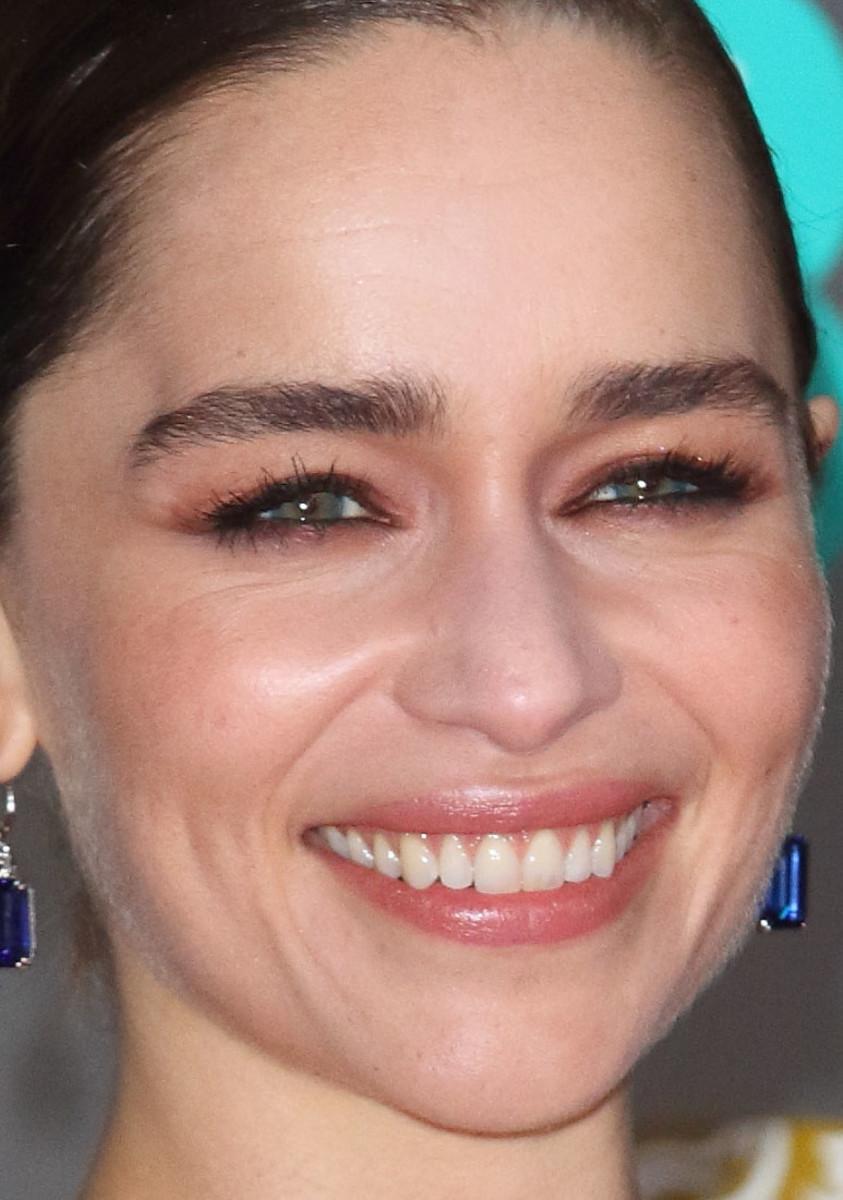Emilia Clarke BAFTA Awards 2020 close-up