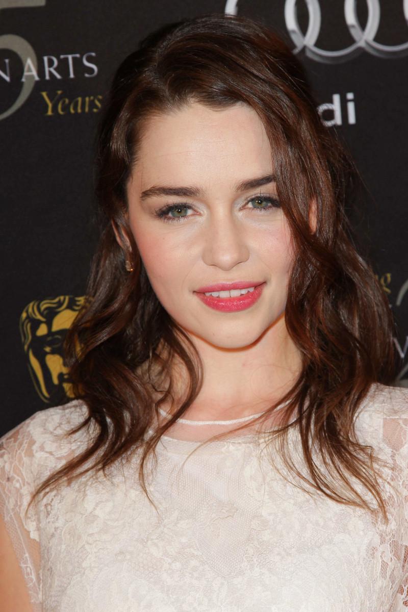 Emilia Clarke BAFTA Los Angeles Awards Season Tea Party 2012