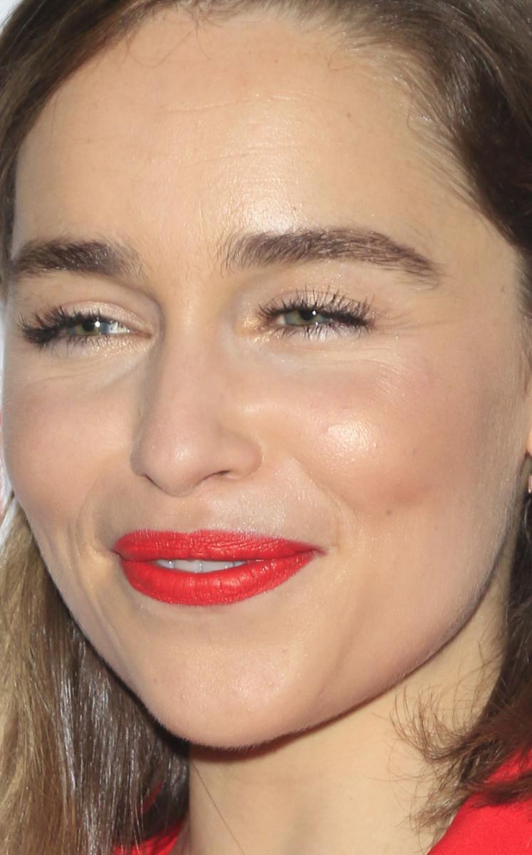 Emilia Clarke CinemaCon 2016 close-up