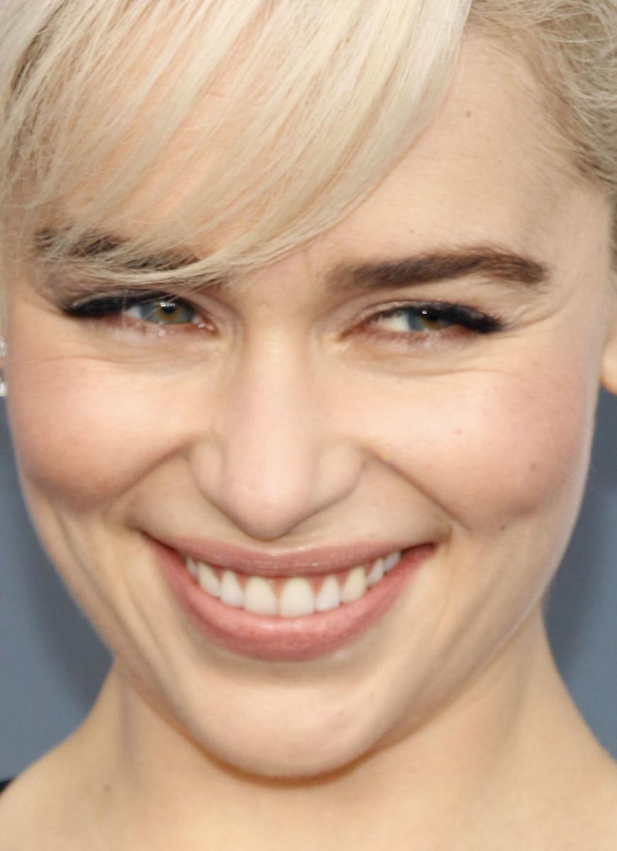 Emilia Clarke Critics' Choice Awards 2018 close-up