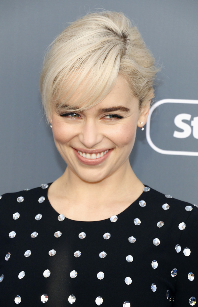 Emilia Clarke Critics' Choice Awards 2018