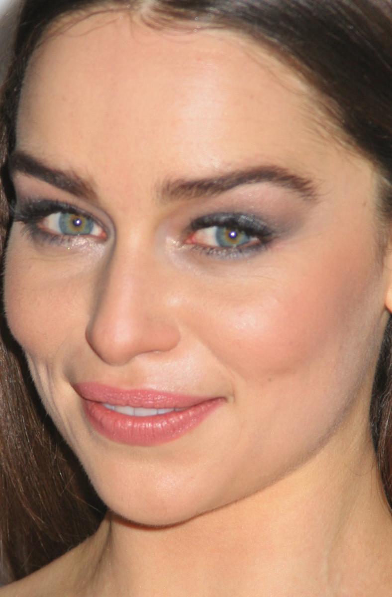 Emilia Clarke Game of Thrones Season 3 Los Angeles premiere 2013 close-up