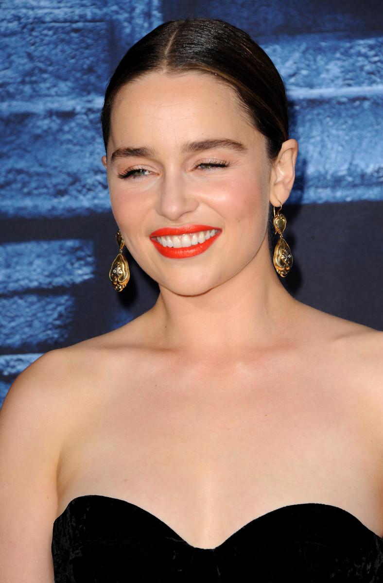 Emilia Clarke Game of Thrones Season 6 Los Angeles premiere 2016