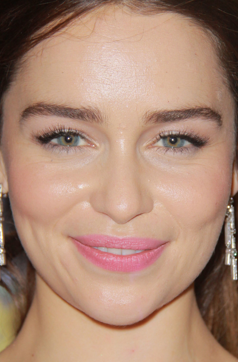 Emilia Clarke HBO Emmys After-Party 2012 close-up