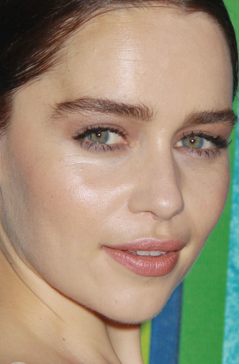 Emilia Clarke HBO Emmys After-Party 2013 close-up