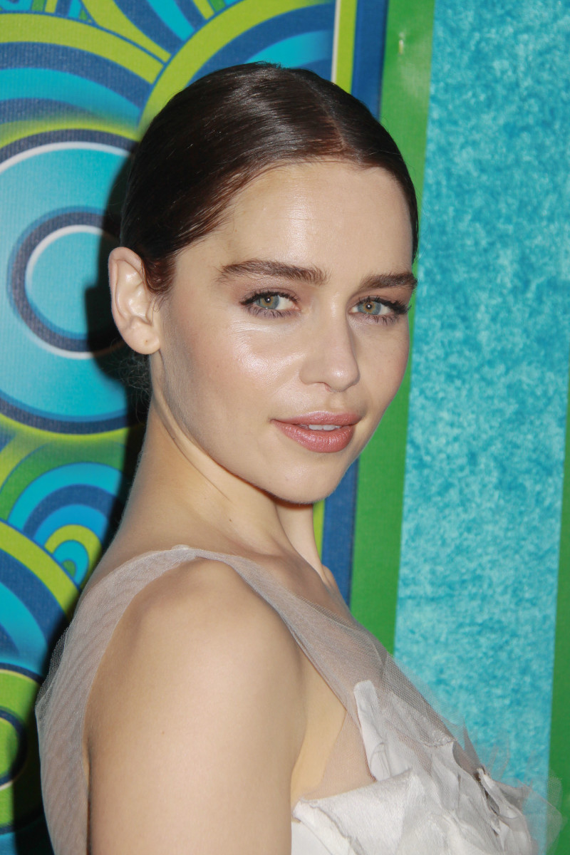 Emilia Clarke HBO Emmys After-Party 2013